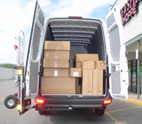 2018 Freightliner Sprinter 2500 Cargo Interior: HTS Systems Lock N Roll, LLC
